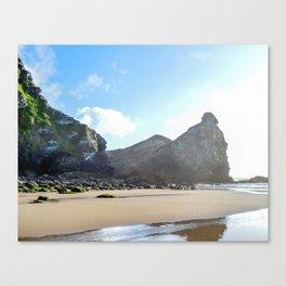 Watergate Bay - Beaches End Canvas Print