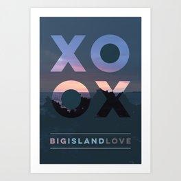 Big Island Love Art Print