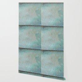 Patina Copper rustic decor Wallpaper