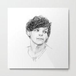 Louis drawing Metal Print