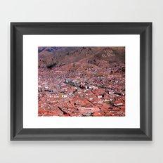 Viva el Peru Framed Art Print