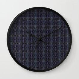 Backsplash Square Glass Spirals Wall Clock