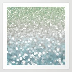 Winter Flurries Art Print