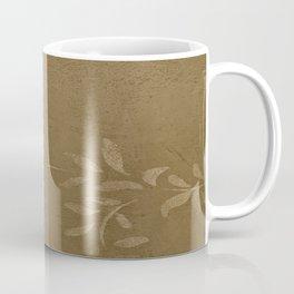 Sepia Vine Vintage Floral - Rustic - Hygge - Modern - Vintage - Farmhouse - Corbin Henry Coffee Mug