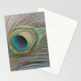 Peacock Feather No.1 | Feathers | Nadia Bonello | Ottawa | Canada Stationery Cards