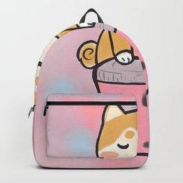 Boba with shiba Backpack