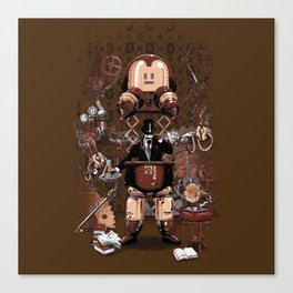 Iron gentleman Canvas Print