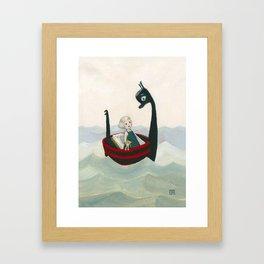 The Stowaway Framed Art Print