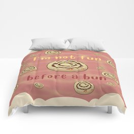 Desserts - Cinnamon bun Pun Comforters