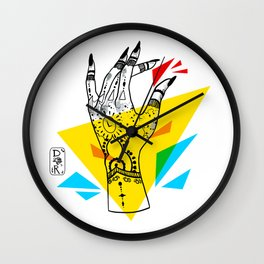 Primary Dogs II - Crunch Time Wall Clock