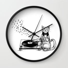 Music Master Wall Clock