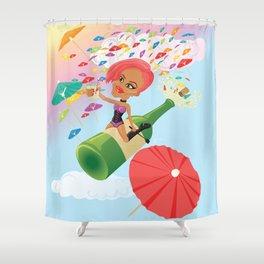 Umbrella Ella Ella Eh Shower Curtain