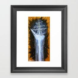 """""""Man-O-War II"""" Framed Art Print"""