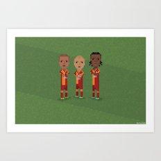 Galatasaray Celebration Art Print