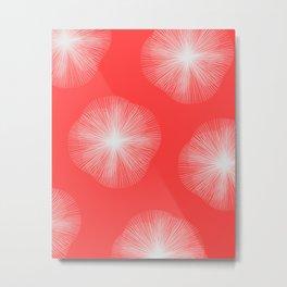 Coral Bust Metal Print