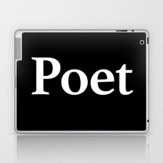 Poet inverse edition Laptop & iPad Skin