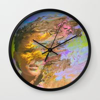 500 days of summer Wall Clocks featuring Summer Days by Tyler Spangler