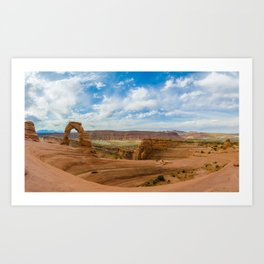 Delicate Arch - Arches National Park - Utah Art Print