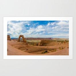 Delicate Arch - Arches National Park - Utah Art Print