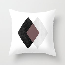 TRIII Throw Pillow
