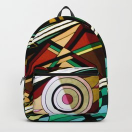 Color Me a Rainbow Colorful Spanish Church Ceiling Backpack