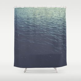 On the Sea Shower Curtain
