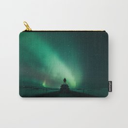 Colorful Northern Lights Carry-All Pouch
