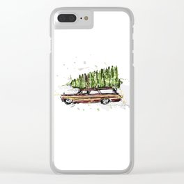 Perfect Christmas Tree Clear iPhone Case