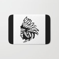 Indian Chief No. 2 Bath Mat