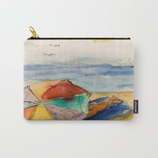 Seaside Holidays Carry-All Pouch