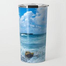 Ocean Blue San Juan Puerto Rico Travel Mug