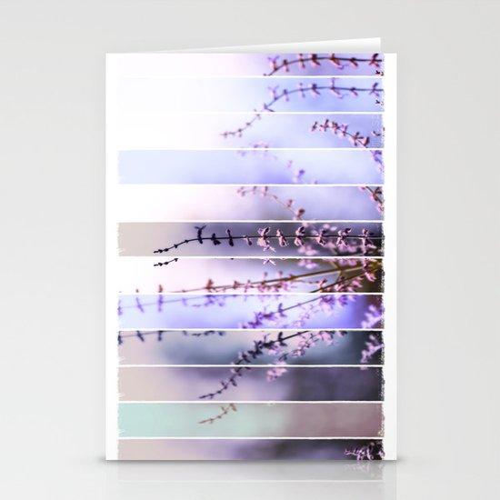 FLOWER - TWELVE Stationery Cards