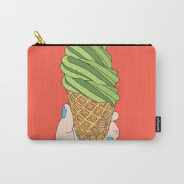 Matcha Ice Cream! Carry-All Pouch