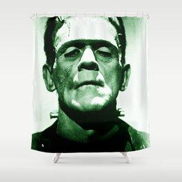 Frankenstein's Monster Shower Curtain