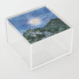Starry Night Sunrise Acrylic Box