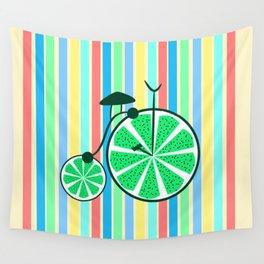 Kiwi ride Wall Tapestry