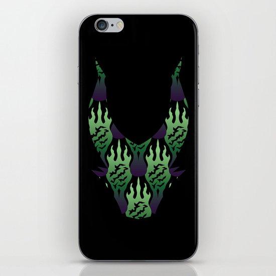 SCORCH pattern ~ Maleficent iPhone & iPod Skin