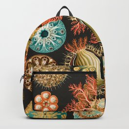 Ernst Haeckel Sea Squirts Illustration, 1904 Backpack