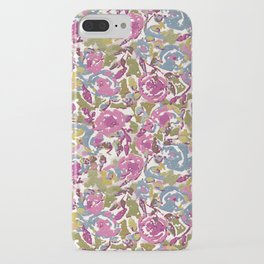 Painted Abstract Florals iPhone Case
