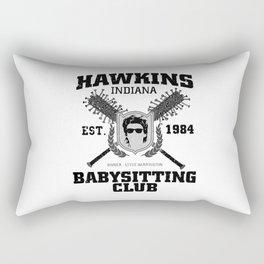 hawkins babysitting club Rectangular Pillow