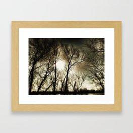 twighlight Framed Art Print