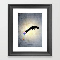 Bohemian Rhapsody Framed Art Print