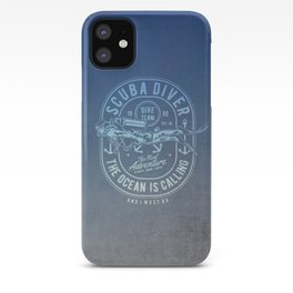 The Ocean Is Calling And I must Go Scuba Diving iPhone Case