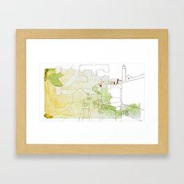 Stavanger Framed Art Print