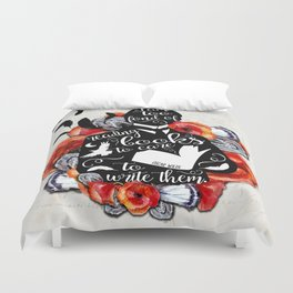 Picture of Dorian Grey - Too Fond of Reading Duvet Cover