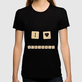 I heart Scrabble T-shirt