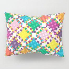 Rainbow Quilt 5 Pillow Sham