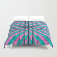 miami Duvet Covers featuring Miami Hitlist by Conundrum Arts