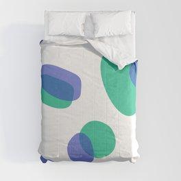 Design, Blue dots Comforters