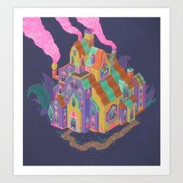 The Lodge Art Print
